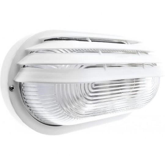 Aplique de exterior Caima grande blanco Fabrilamp