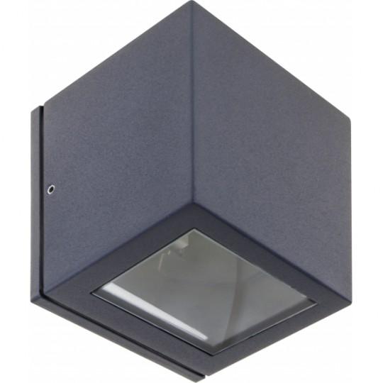 Aplique de exterior Cavalum gris oscuro Fabrilamp