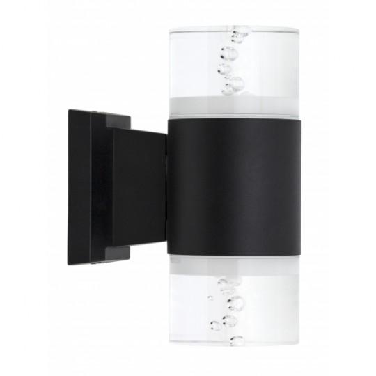 Aplique de exterior Cuba negro 18W LED 4000K Fabrilamp
