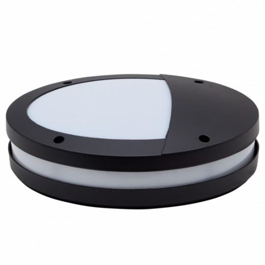 Aplique de exterior Asante negro Fabrilamp