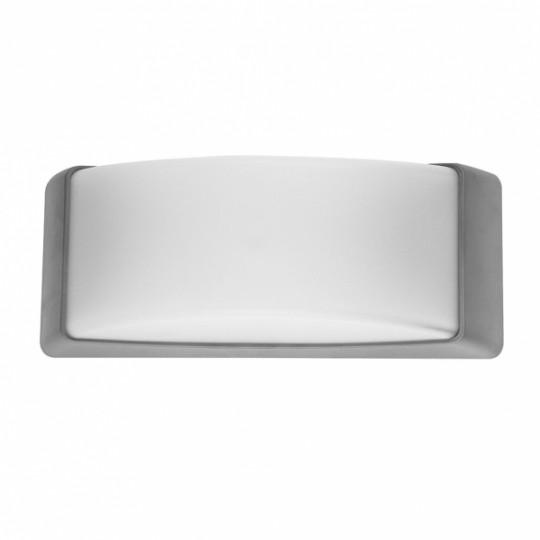 Aplique de exterior Azuki gris Fabrilamp