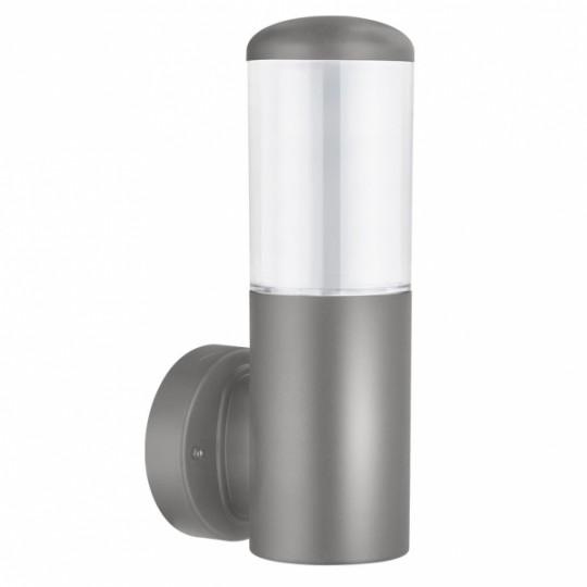 Aplique de exterior Azafran gris Fabrilamp
