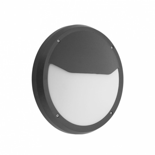 Aplique de exterior Coliandro negro Fabrilamp