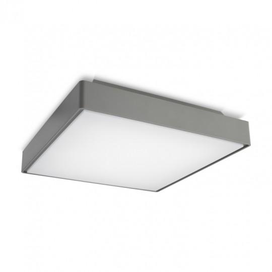 Plafón de techo exterior gris Kossel Leds C4