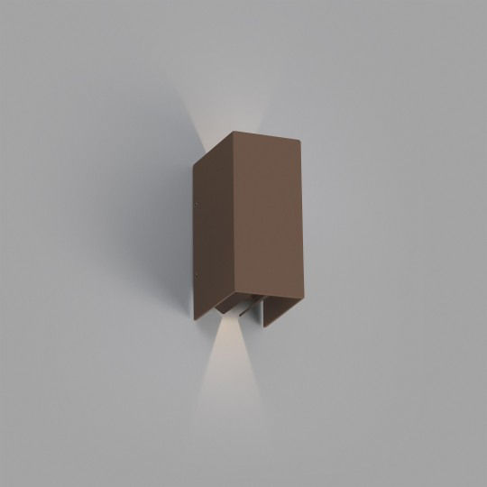 Aplique de exterior Blind marrón Faro