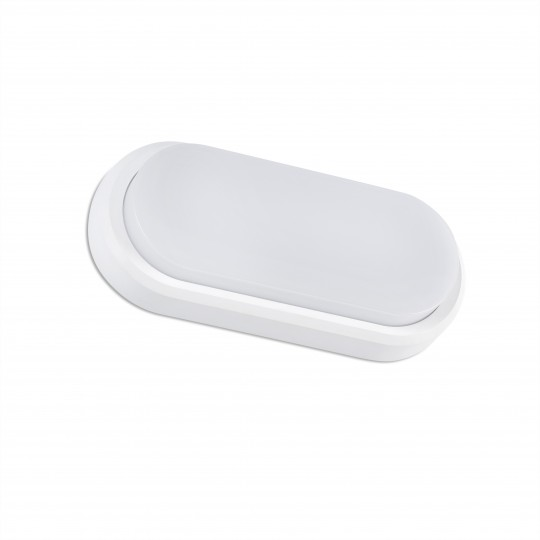 Aplique de exterior Fred XL blanco Faro
