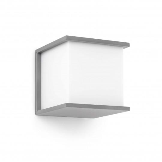 Aplique de exterior Kubick gris Faro