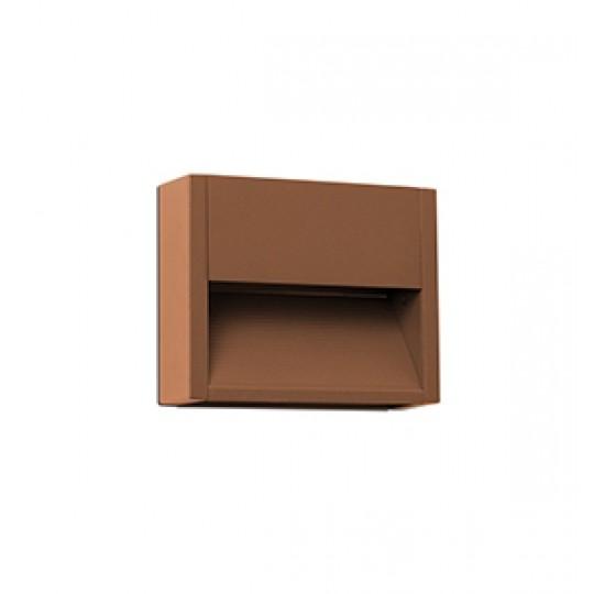 Aplique de exterior Grada-1 marrón Faro