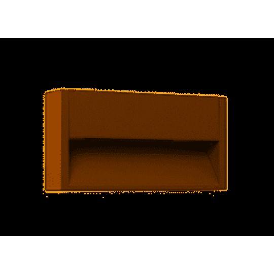 Aplique de exterior Grada-2 marrón Faro