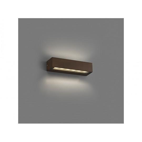 Aplique de exterior Doro 13W LED marrón Faro