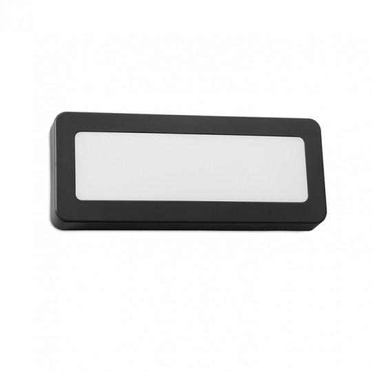 Aplique de exterior Grove rectangular Forlight