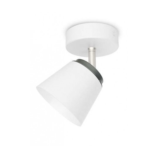 Foco 1 luz blanco Dender Philips
