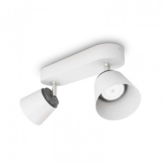Barra 2 luces blanca Dender Philips
