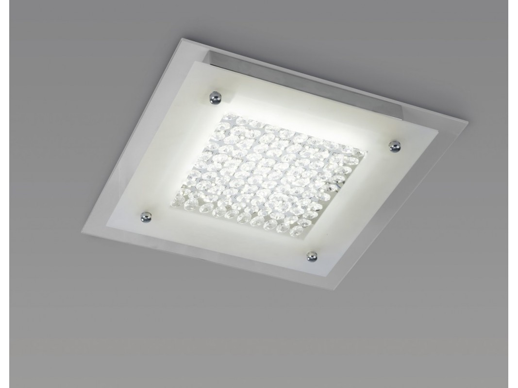 Juvi iluminaci n plaf n de techo crystal mantra mediano - Plafon led techo ...