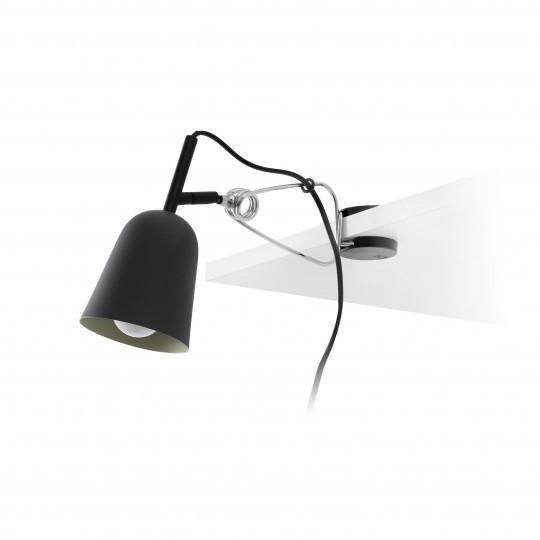 Lámpara pinza Studio negro/crema Faro