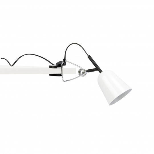 Lámpara pinza Studio blanco Faro