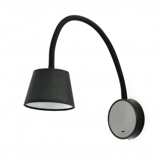 Aplique Blome negro Faro