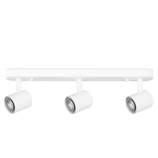 Aplique Keeper blanco 3 luces Forlight