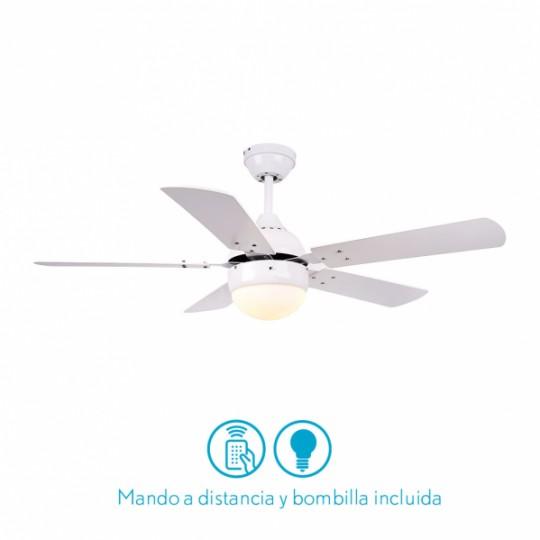 Ventilador 5 aspas Pontia blanco Fabrilamp
