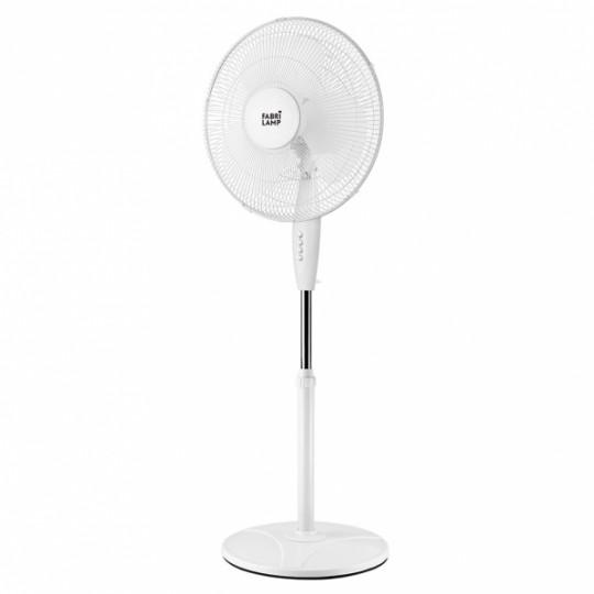 Ventilador de pie Arifi blanco Fabrilamp
