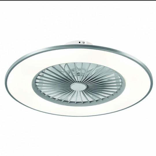 Ventilador Bofu plata LED 48W 3000/4000/6000k Fabrilamp