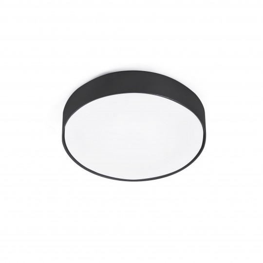 Kit de luz ventilador Winche negro Faro