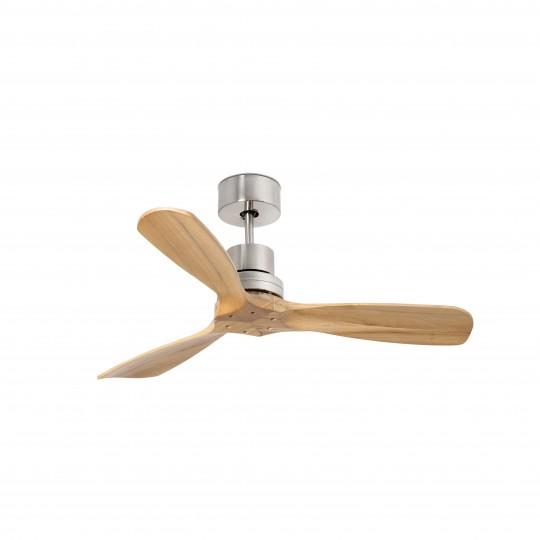 Ventilador 3 palas Mini Lantau níquel pino Faro