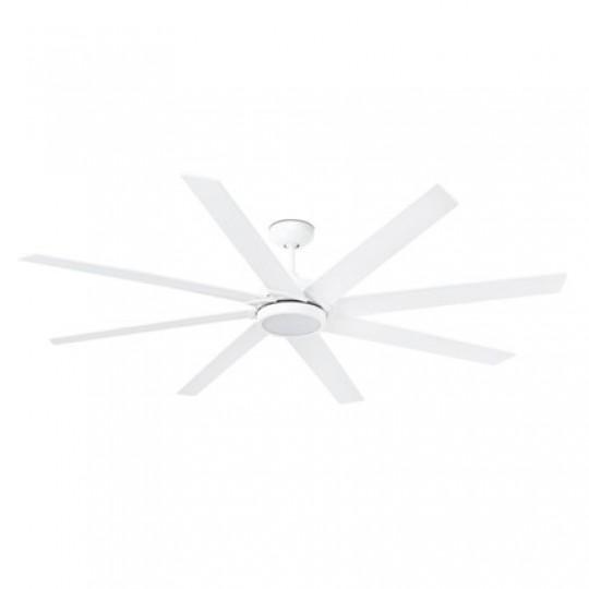 Ventilador CENTURY LED blanco FARO