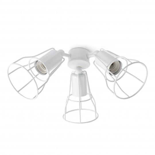 Kit de luz ventilador Yakarta blanco Faro
